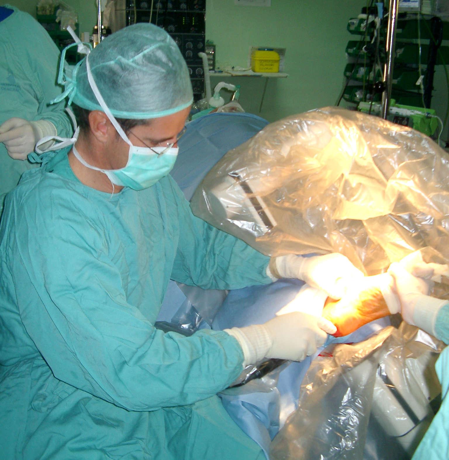 Servicio de ortopedia y traumatologia
